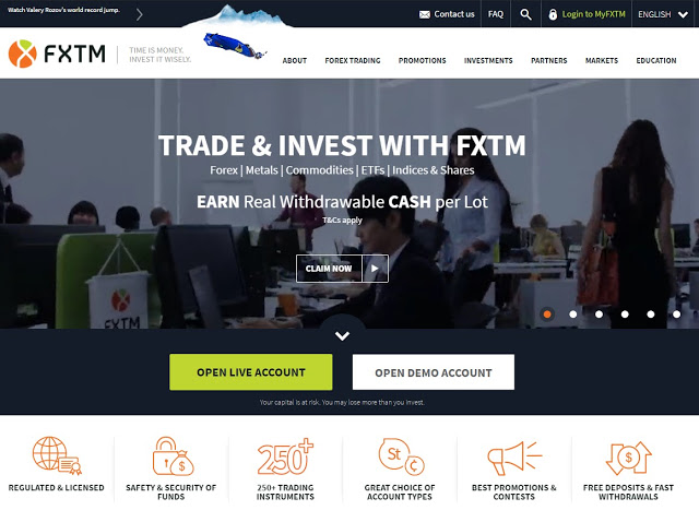 Forex Time (FXTM) Broker Review 2019 | Free Forex Robot