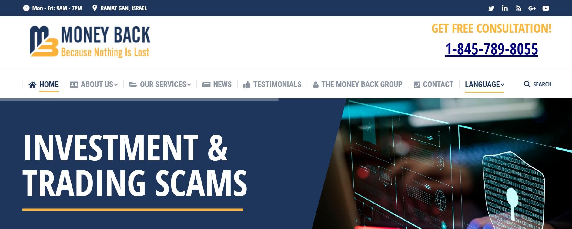 Money-back.com website