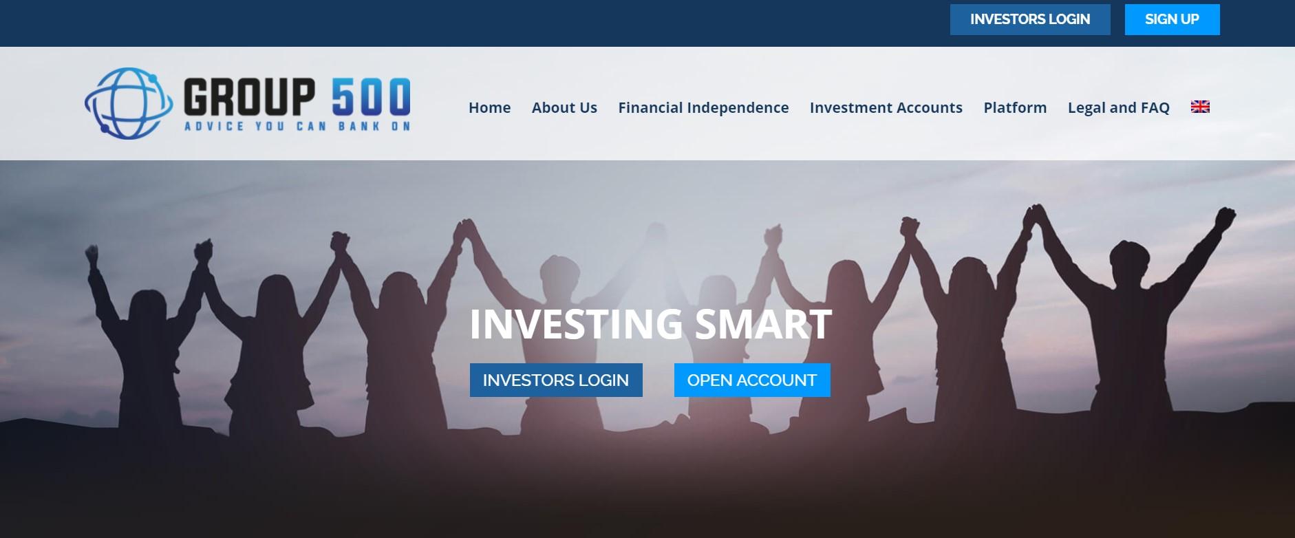 Group500 website